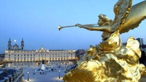 Statue, Place Stanislas, Nancy
